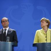 Numérique : Hollande et Merkel soutiennent l'«industrie 4.0»