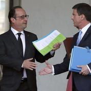Loi Rebsamen: l'acte manqué de François Hollande et Manuel Valls