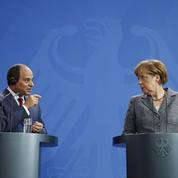 Le président égyptien chahuté à Berlin