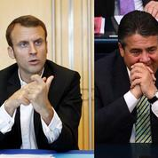 L'appel d'Emmanuel Macron et Sigmar Gabriel pour un renforcement de l'Union européenne