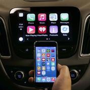 La guerre des smartphones aura lieu dans les voitures