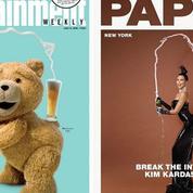 L'ours Ted parodie Kim Kardashian