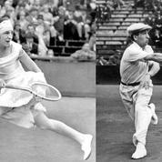 En 1925, René Lacoste et Suzanne Lenglen champions des Internationaux de France
