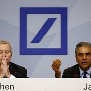 Les deux patrons de Deutsche Bank démissionnent