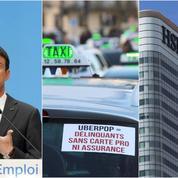 Emploi, UberPop, HSBC : le récap éco du jour