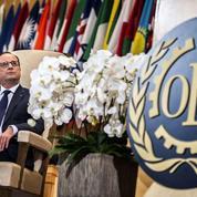 Hollande vante le dialogue social à la française devant l'OIT