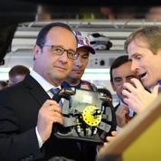 En visite aux 24 Heures du Mans, François Hollande n'est «pas en campagne »