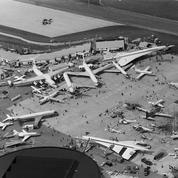 1953 : le salon de l'aéronautique se fixe au Bourget