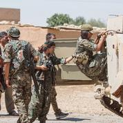 Syrie:les Kurdes encerclent l'État islamique à Tall al-Abyad