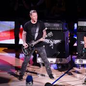 Finales NBA : Metallica interprète l'hymne américain avant le Game 5