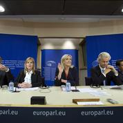 Groupe FN au Parlement européen : un succès relatif pour Marine Le Pen