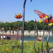 «Petite fleur Folies»: le somptueux jardin éphémère des quais de Seine