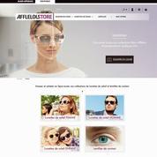 Alain Afflelou met ses lunettes sur Internet