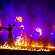Waterloo : un participant prend feu sur la scène d'Inferno