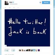 Le mystérieux message de DSK pour son retour sur Twitter