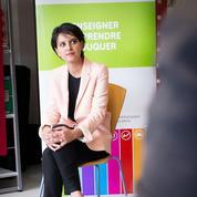 Pour Najat Vallaud-Belkacem, une fin d'année scolaire laborieuse et désordonnée