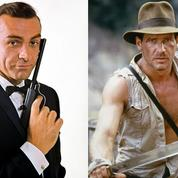 Indiana Jones devance James Bond dans le Top 10 des héros