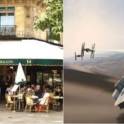 Star Wars VII est né à Paris aux Deux Magots