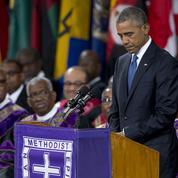 Moment de grâce pour Obama à Charleston