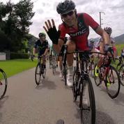 Des cyclistes équipés de GoPro pour filmer le Tour de France