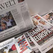 Pour la presse allemande «les Grecs ont voté pour le Grexit »