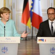 Crise grecque : Hollande et Merkel tentent de faire front commun