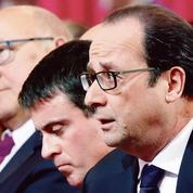 Hollande-Valls-Sapin: le «trio» en première ligne sur la crise grecque