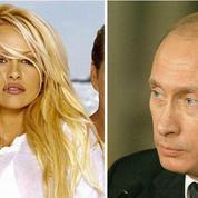 Pamela Anderson demande à Vladimir Poutine de sauver les baleines