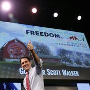 États-Unis: le Républicain Scott Walker candidat à la présidentielle
