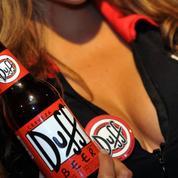 Une bière «Duff», issue de la série The Simpsons ,bientôt sur le marché