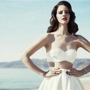 Lana Del Rey en pleine Honey moon