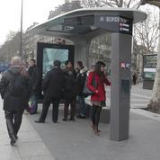 À Paris, cinq mois sont nécessaires pour changer un Abribus