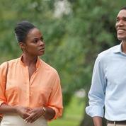 Les premiers clichés de la romance des Obama au cinéma