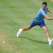 La tenue d'un joueur de tennis britannique régale les internautes