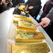 L'or au plus bas depuis cinq ans