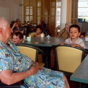 Le succès de la crèche à la maison de retraite