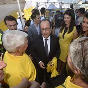 Malgré son activisme, Hollande reste enlisé dans l'impopularité