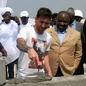 Disparition des empreintes de Messi au Gabon