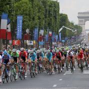 Où était située l'arrivée du Tour de France avant les Champs-Elysées ?