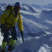 1992 : Catherine Destivelle dans la face nord de l'Eiger