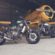 Yamaha XSR700, une moto néo-rétro « made in France »