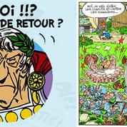 Astérix : découvrez une case inédite de bagarre au village