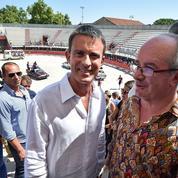 En Camargue, Manuel Valls défend les traditions taurines