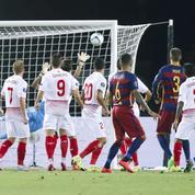 Les deux coups francs magistraux de Messi en Supercoupe d'Europe