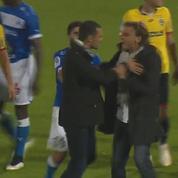 Vive altercation entre deux entraîneurs de Ligue 2 à l'issue d'un match