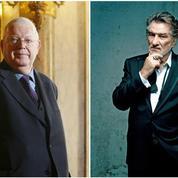 Michel Charasse et Eddy Mitchell : deux bêtes de scène