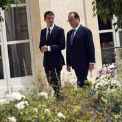 Hollande et Valls affrontent une rentrée semée d'embûches