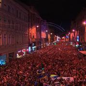 50.000 Bosniens fêtent les champions d'Europe de basket des moins de 16 ans