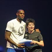 LeBron James et Lang Lang, le yin et le yang