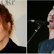 Mylène Farmer et Sting en duo